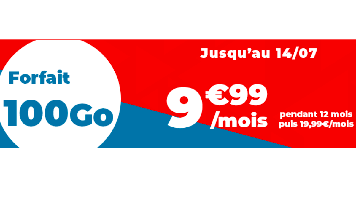 Le forfait en promo de Auchan Telecom est à moins de 10€ par mois.