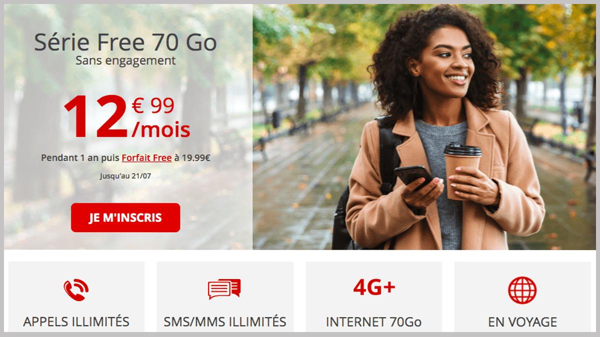 Free mobile en promo