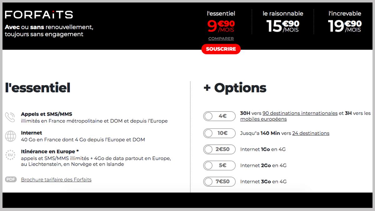 L'essentiel à 9,90€/mois