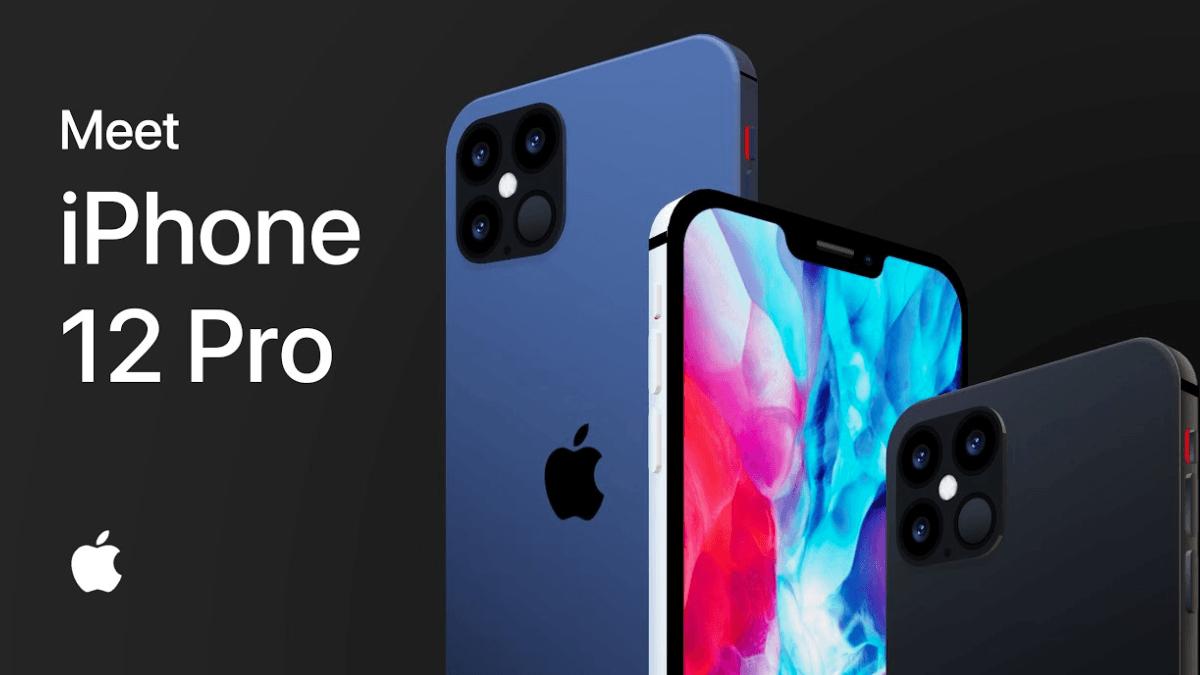 le nouvel iPhone 12 présenté lors de la Keynote.