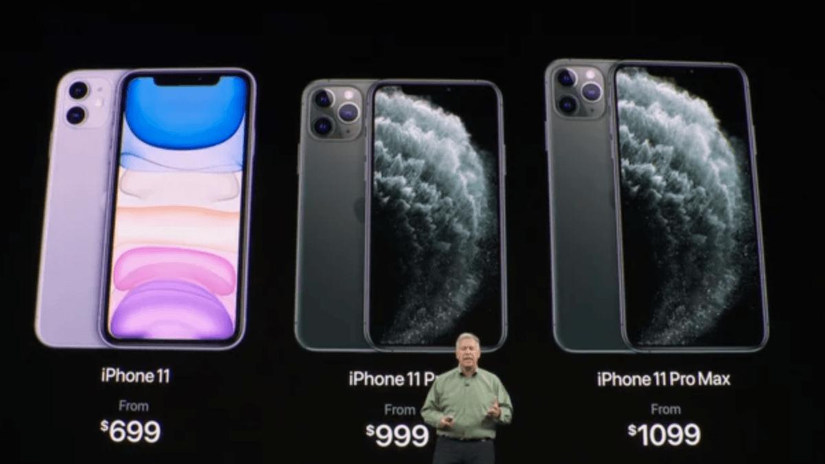 La gamme de l'iPhone 11 devrait porter Apple au quatrième trimestre.