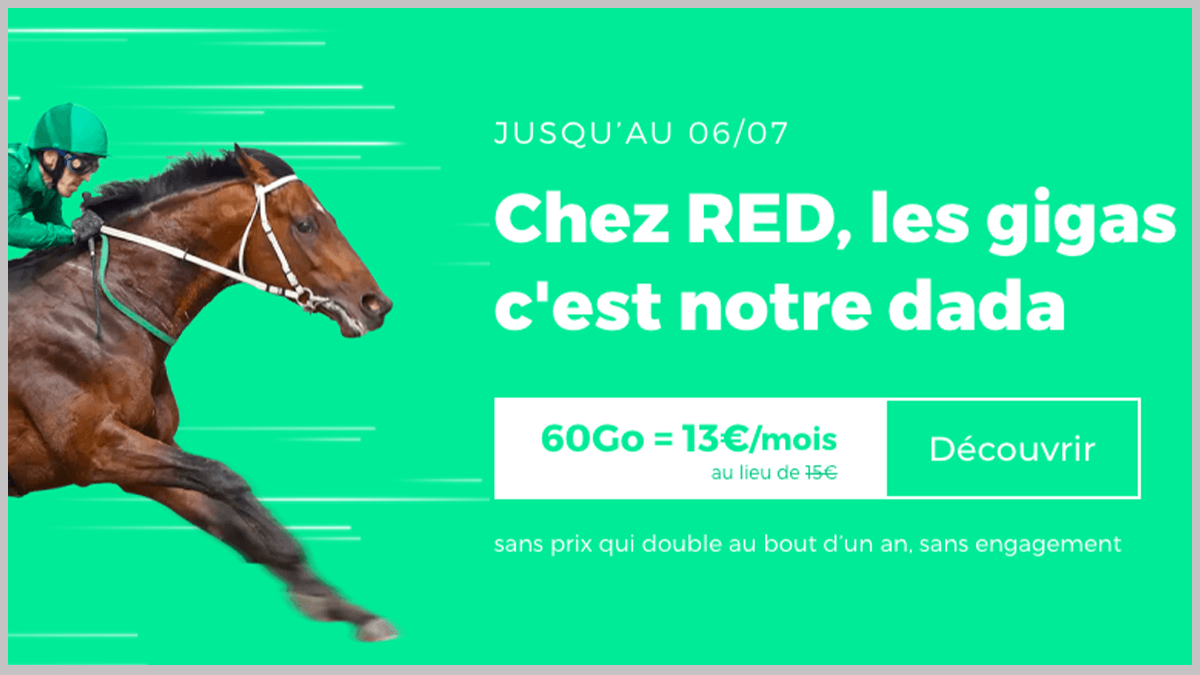 RED by SFR en promotion