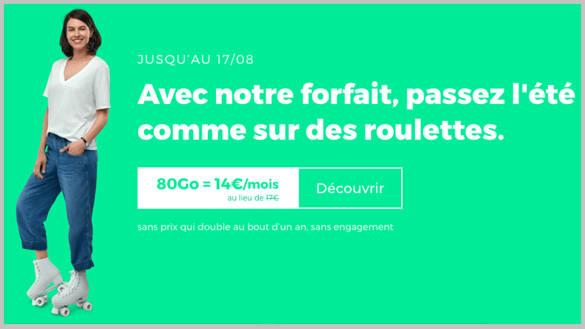 RED by SFR à 14€/mois