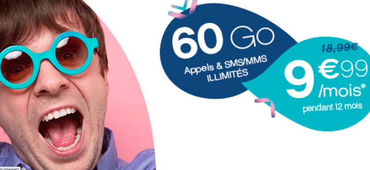 Coriolis Telecom Forfait 60 Go