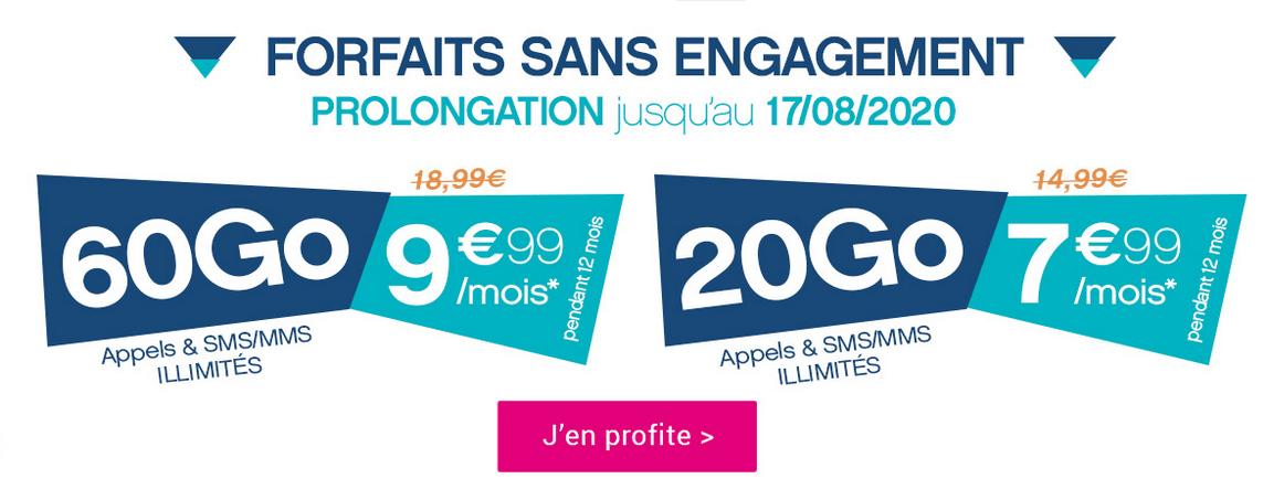 Le forfait 4G de Coriolis Telecom