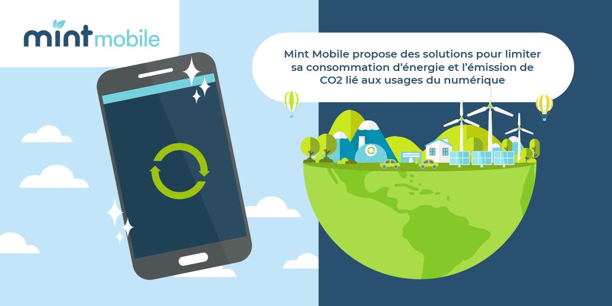 Mint Mobile écoresponsable
