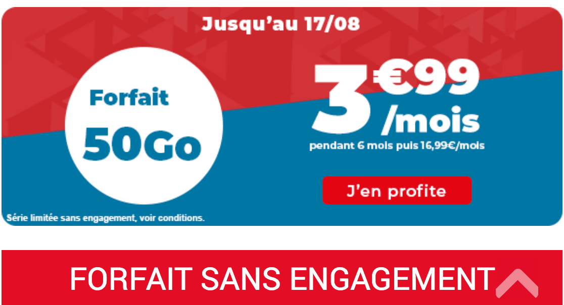 Package promotionnel Auchan Telecom