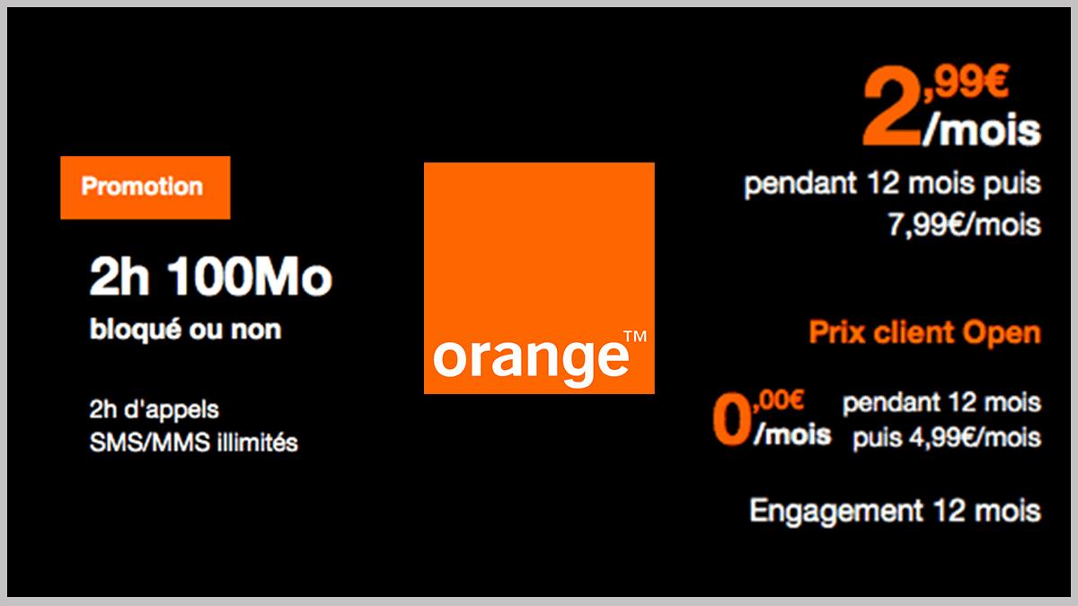 Forfait rentrée scolaire d'Orange