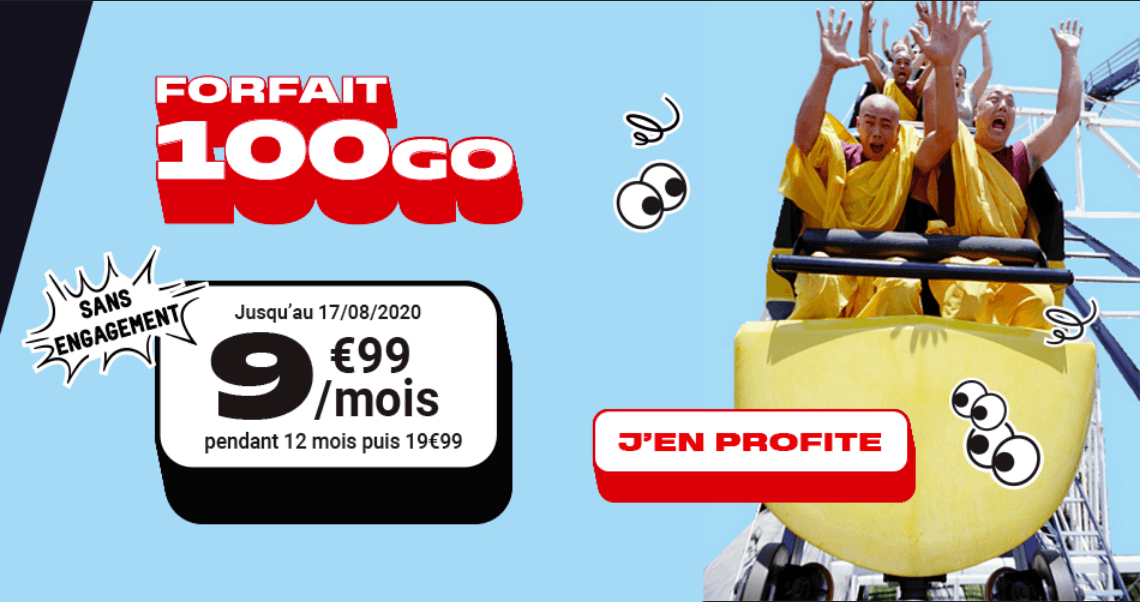 Le package NRJ Mobile en promotion