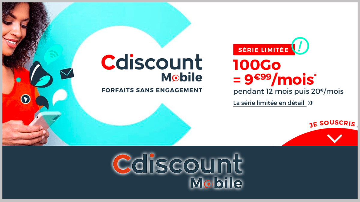 Forfaits Cdiscount Mobile en promo