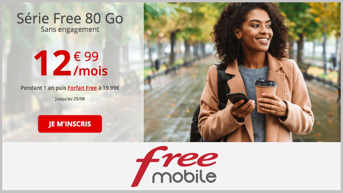 Mobile gratuit en promo