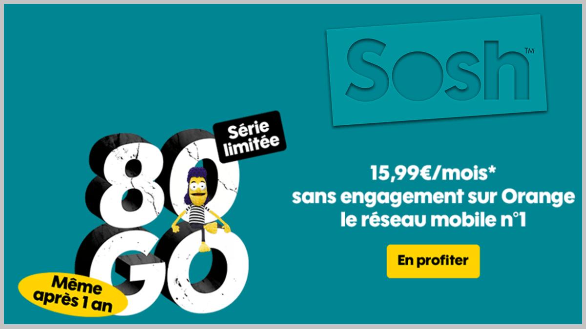 80 Go avec Sosh