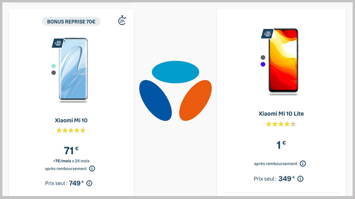 Xiaomi Mi 10 à prix réduit