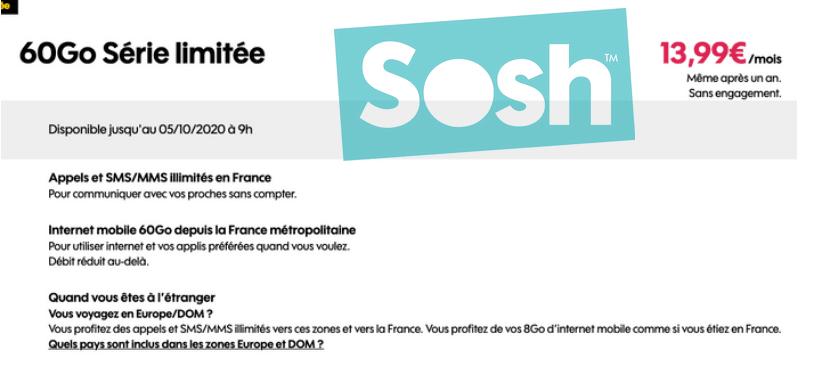 Sosh 60 Go