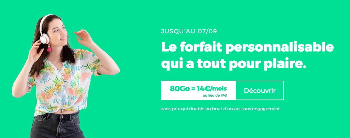 Forfait 80 Go RED by SFR