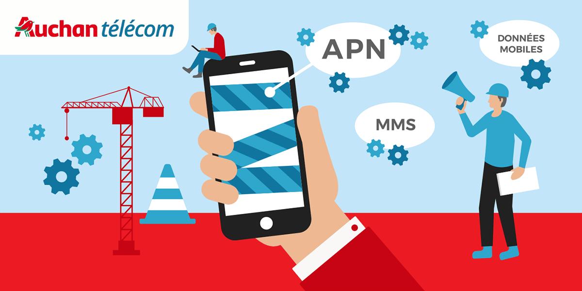 Configuration de son APN avec Auchan Telecom
