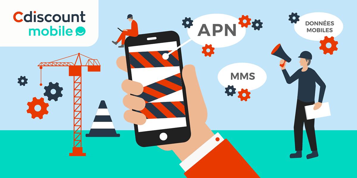 Configurer son APN sur une carte Cdiscount Mobile