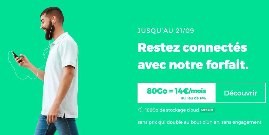 Dernier jour RED by SFR 14€/mois