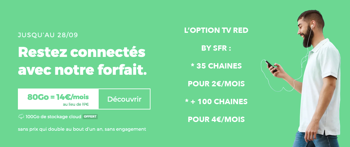 RED forfait TV