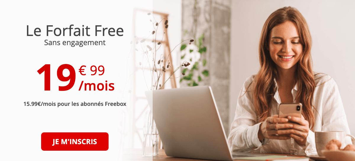 Série Free devient Forfait Free après un an