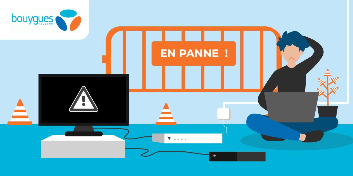 Les pannes de Bouygues Telecom.