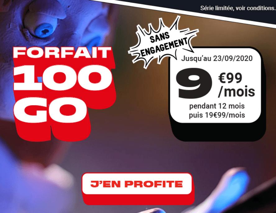 forfait 4G NRJ Mobile
