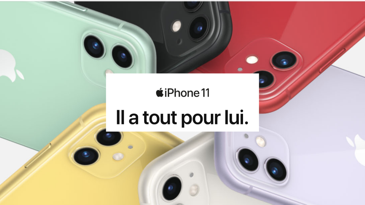 iPhone 11 SFR bon plan