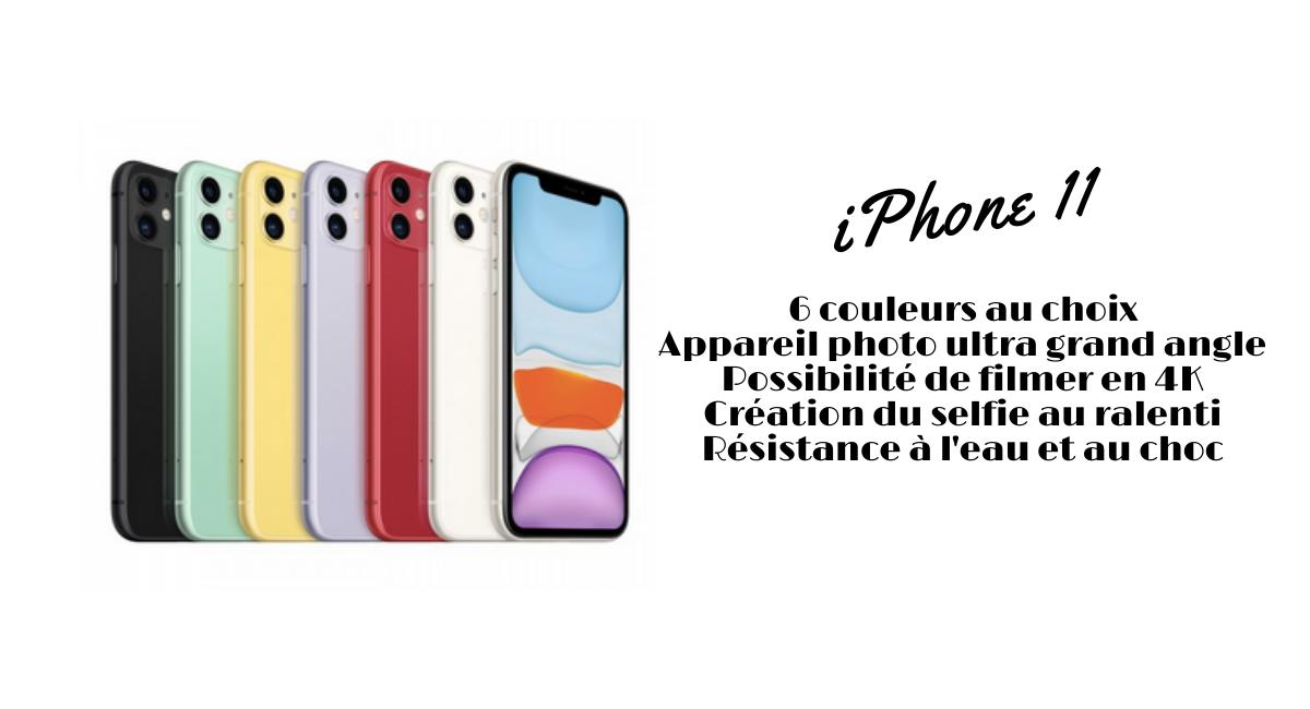 iPhone 11 forfait illimité
