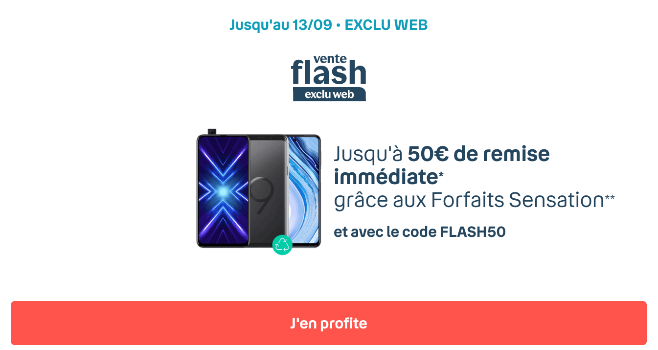 iPhone 8 en promo Bouygues vente flash