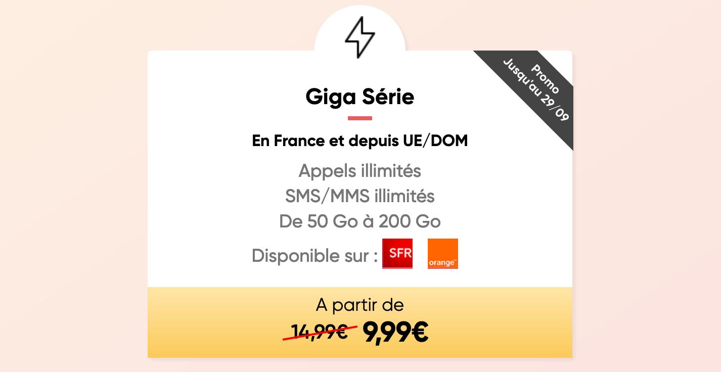 Prixtel Giga Série