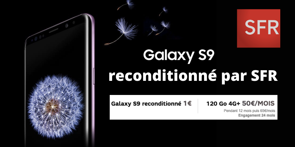 Galaxy S9 reconditionné SFR