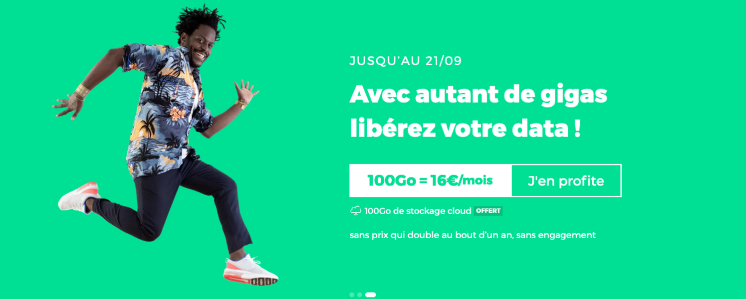 forfait RED by SFR 100Go