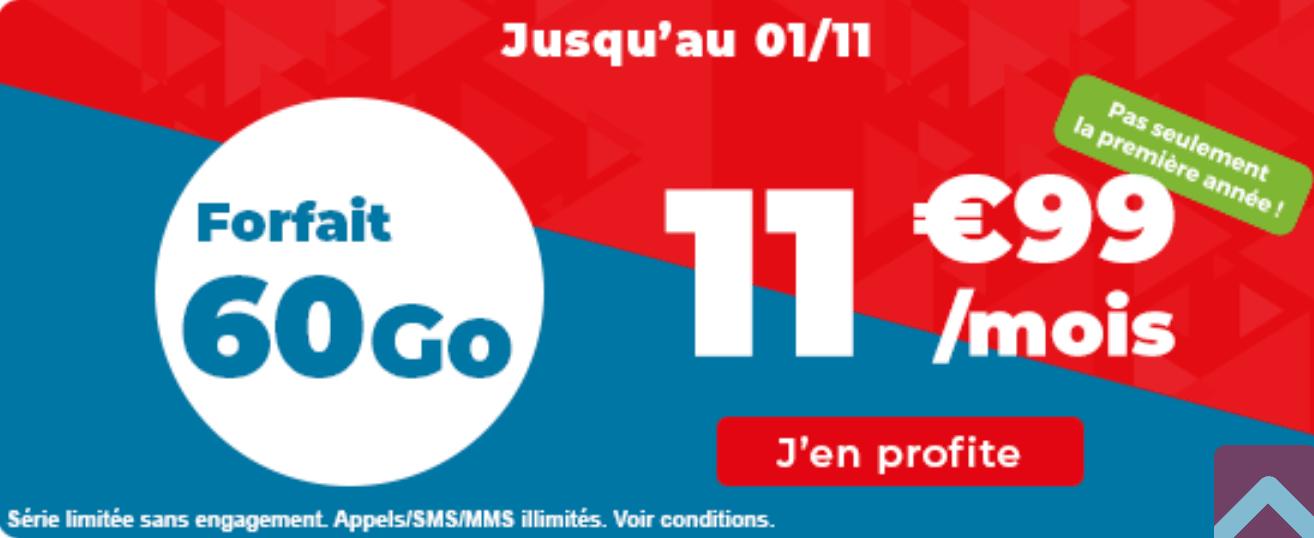 Auchan Télécom 60 Go
