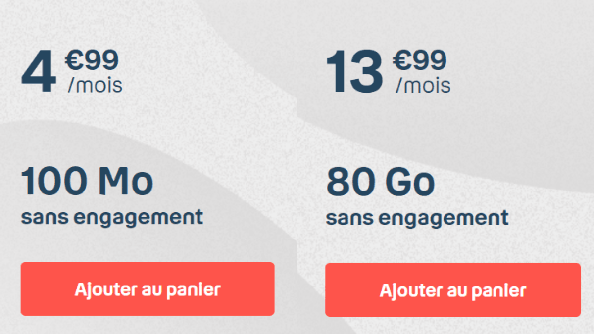 Les forfaits mobiles B&YOU dès 4,99€/mois