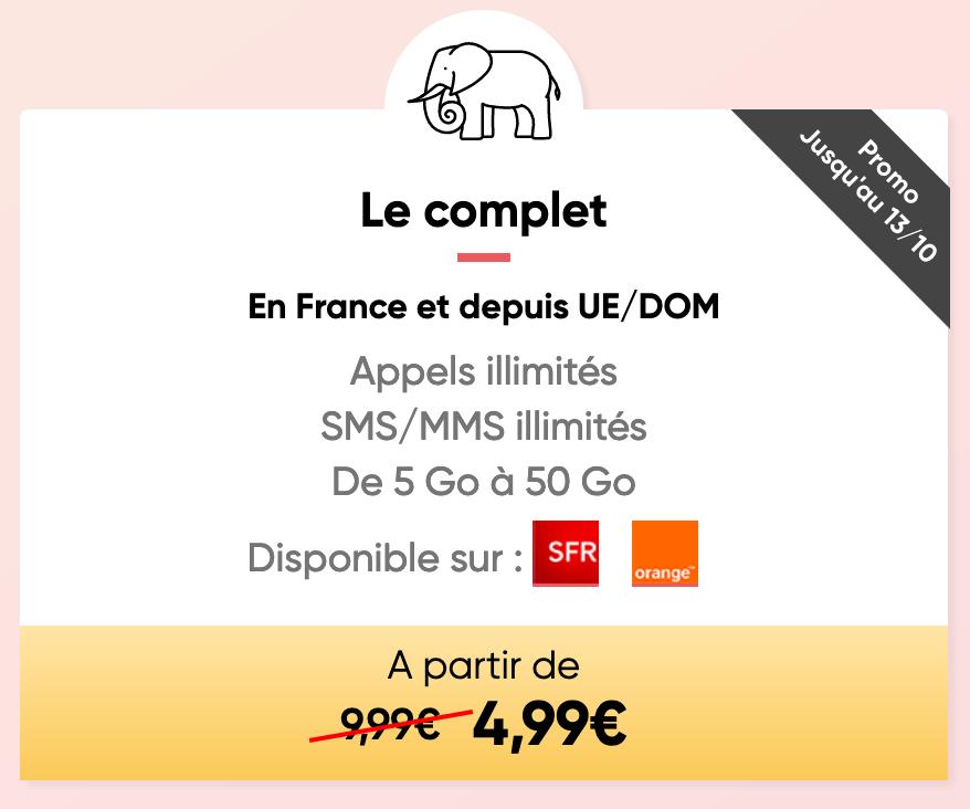 Prixtel Forfait Mobile Le Complet