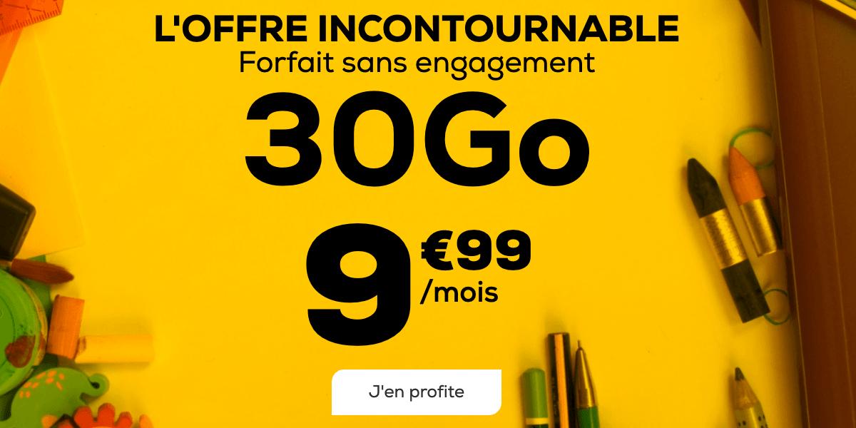 La Poste Mobile Forfait 30 Go