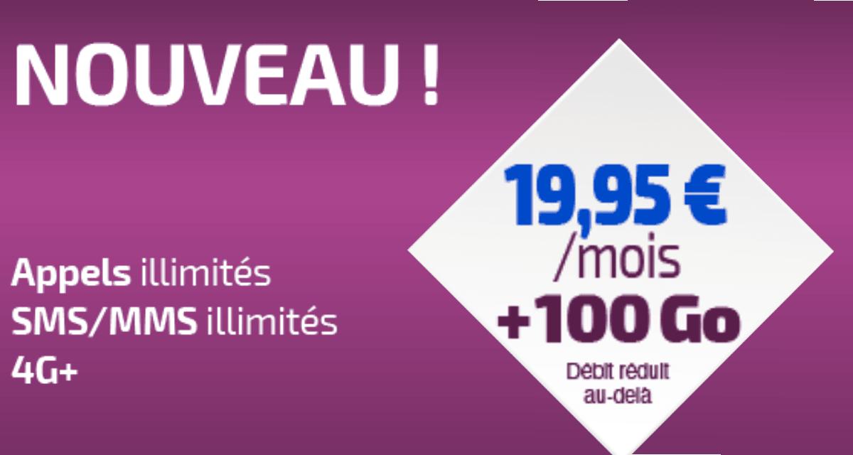 Forfait 100 Go Réglo Mobile