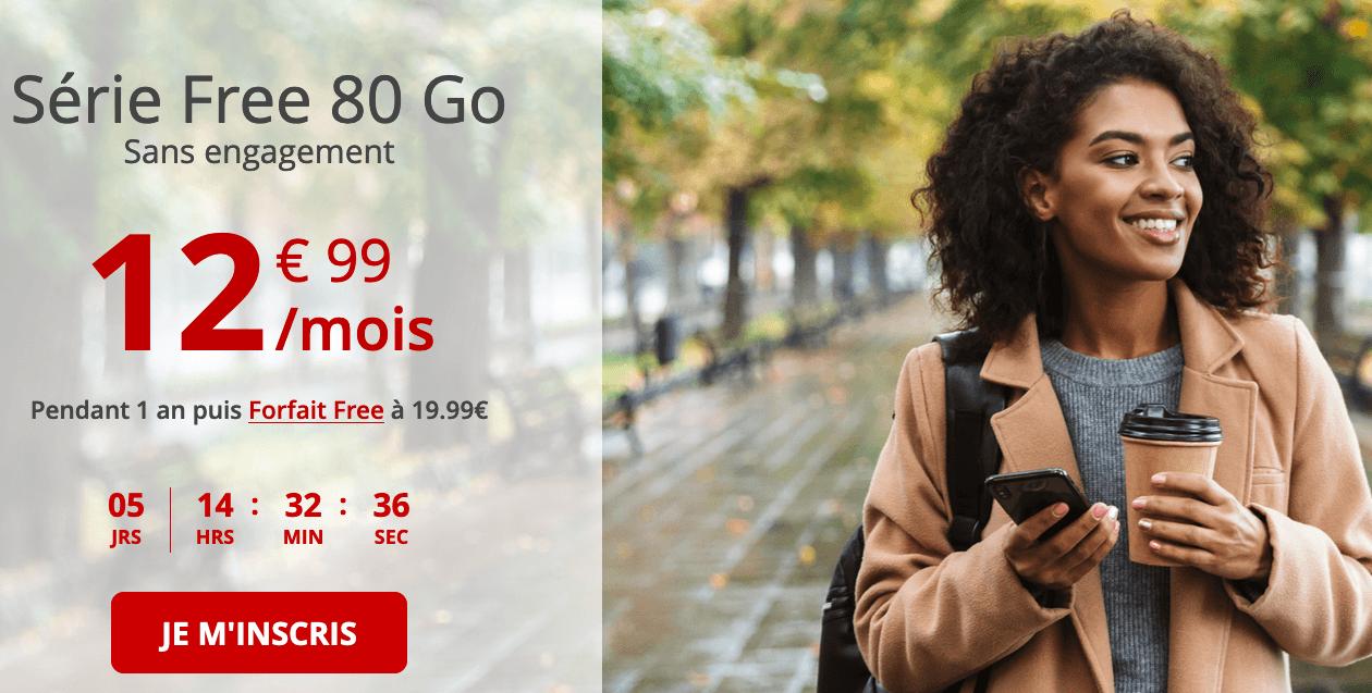 Free série Free 80 Go promo