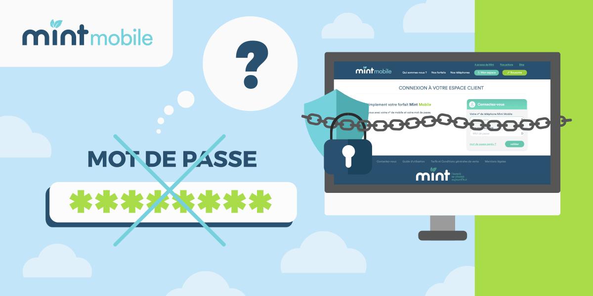 Comment retrouver son mot de passe Mint Mobile