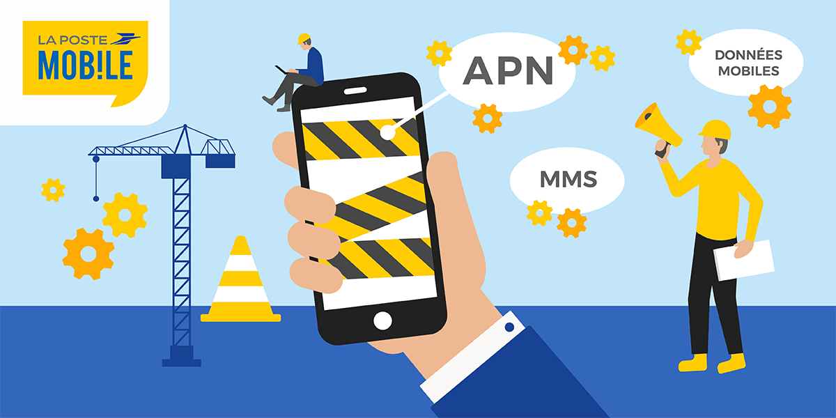 Configurer son APN La Poste Mobile.