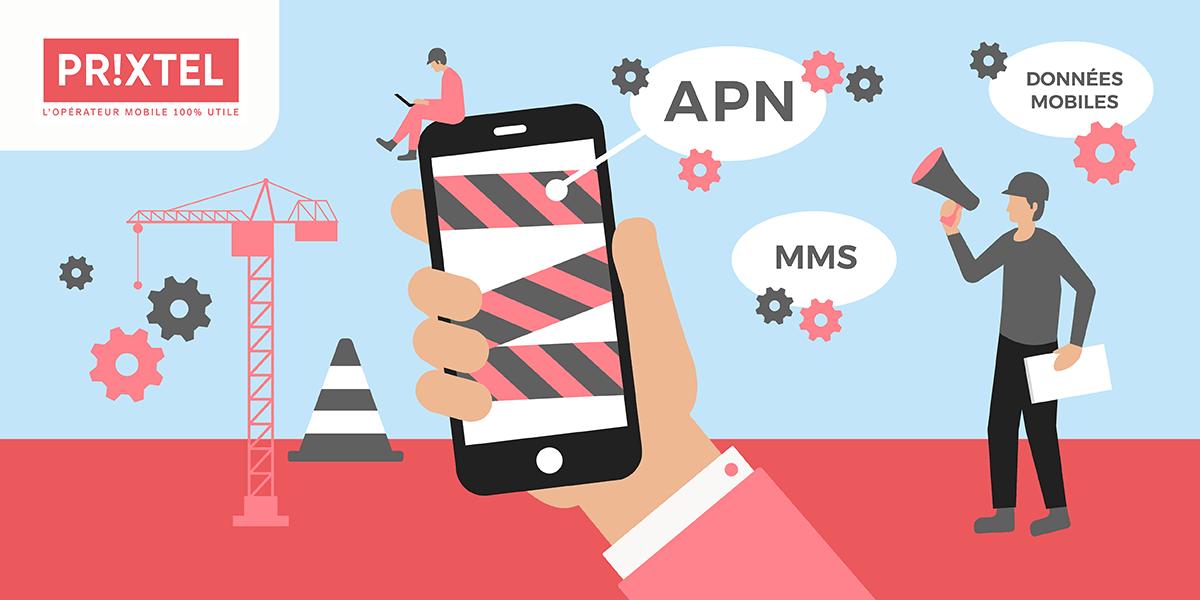 Paramétrer l'APN Prixtel pour les MMS et l'Internet mobile.