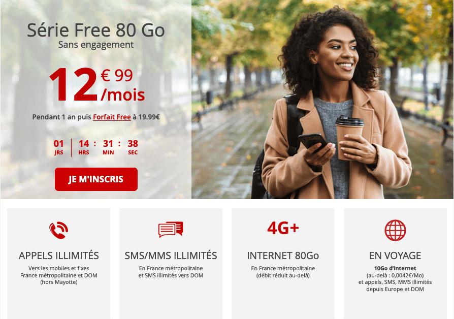 Free mobile forfait 80 Go