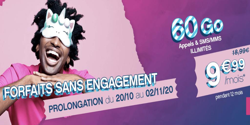 Coriolis offre mobile 60 Go