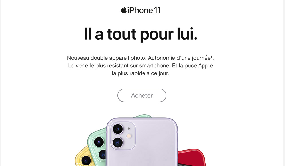 iPhone 11 Free mobile