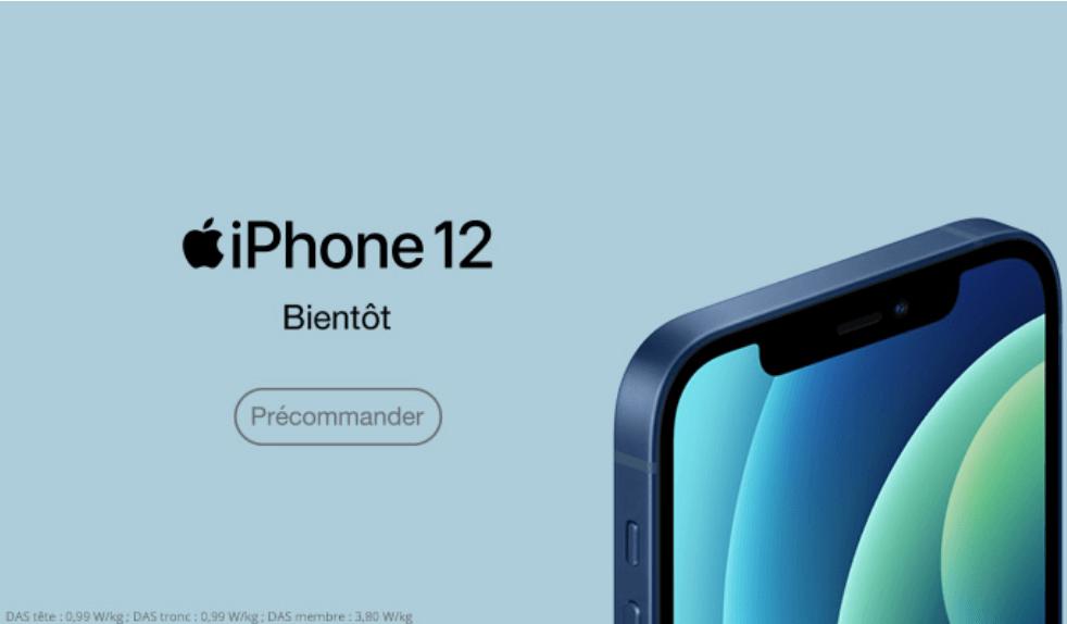 iPhone 12 série Free