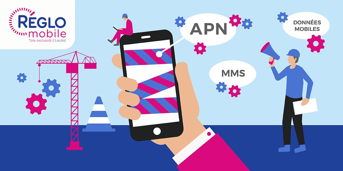 Paramétrage de l'APN Réglo Mobile.
