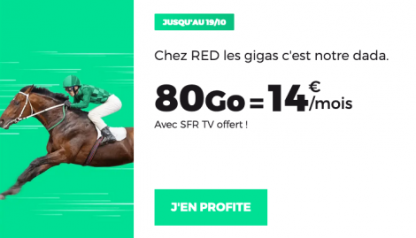 Forfait 80 Go RED by SFR.