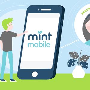 Le service client de Mint Mobile.