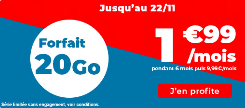 Auchan telecom 20 Go