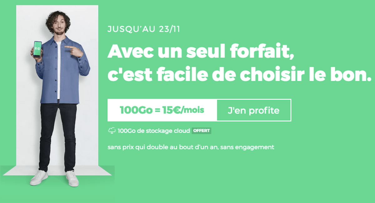 Forfait 100 Go RED by SFR